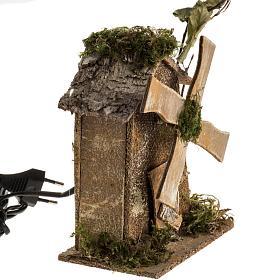 Nativity setting, wind mill 4W, 15-18 turns/minute 18x13x9cm s2
