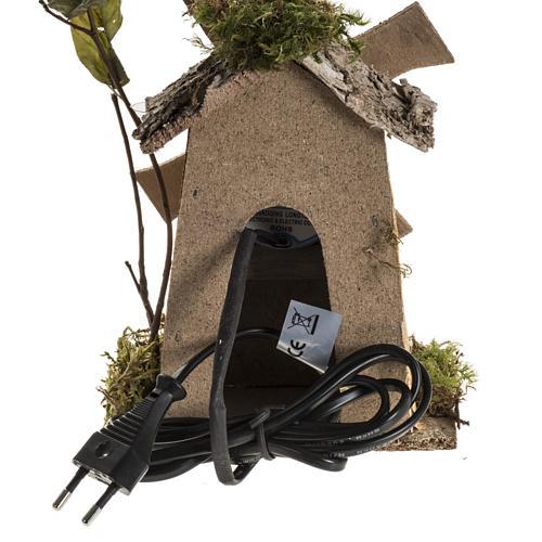 Nativity setting, wind mill 4W, 15-18 turns/minute 18x13x9cm 4