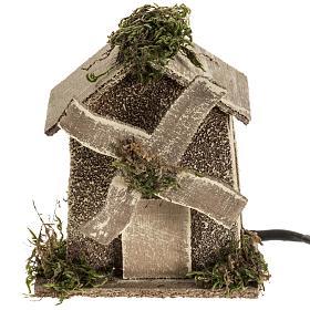 Nativity setting, wind mill 4W, 15-18 turns/minute 13x10x6cm s1