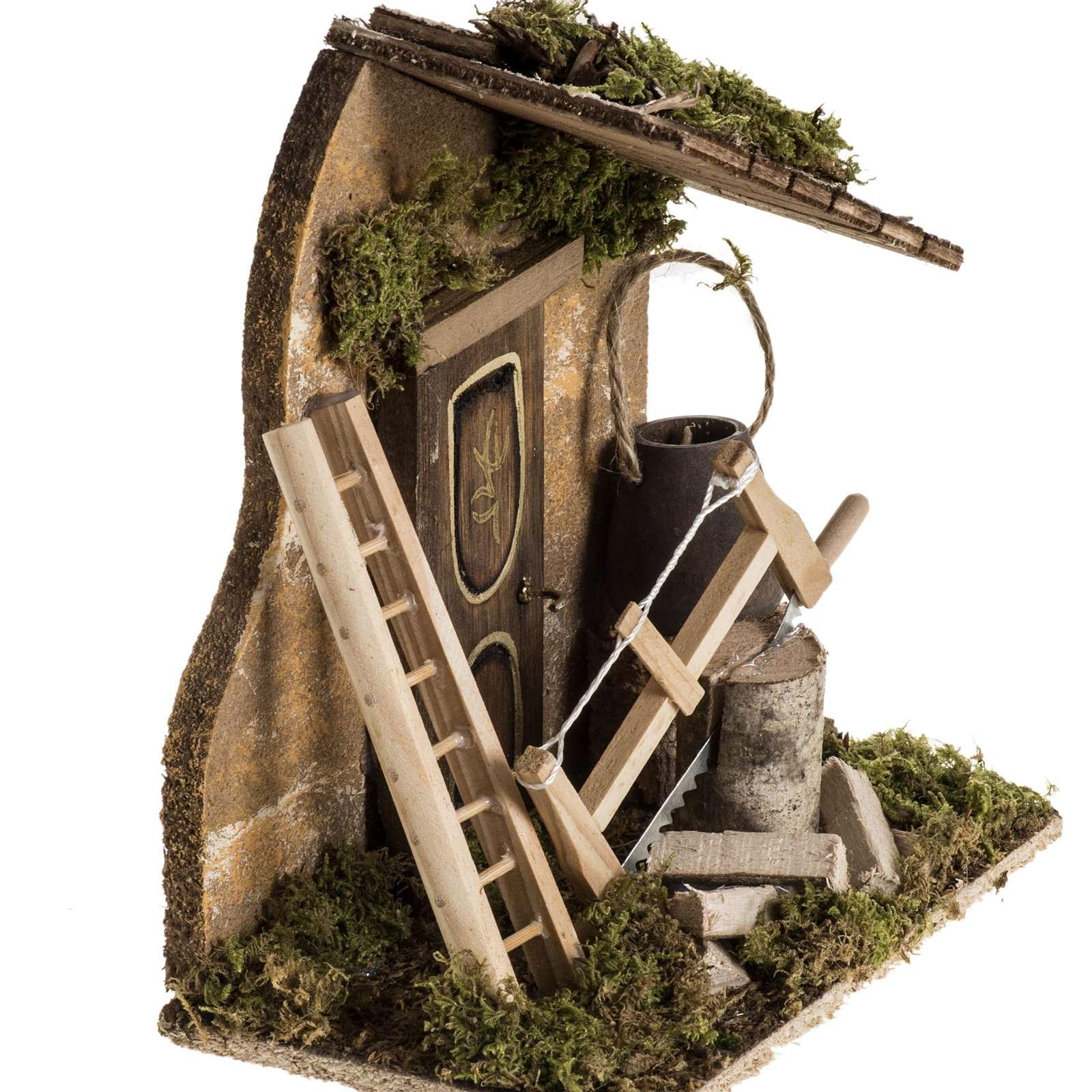 Ambientazione presepe attrezzi da lavoro 4