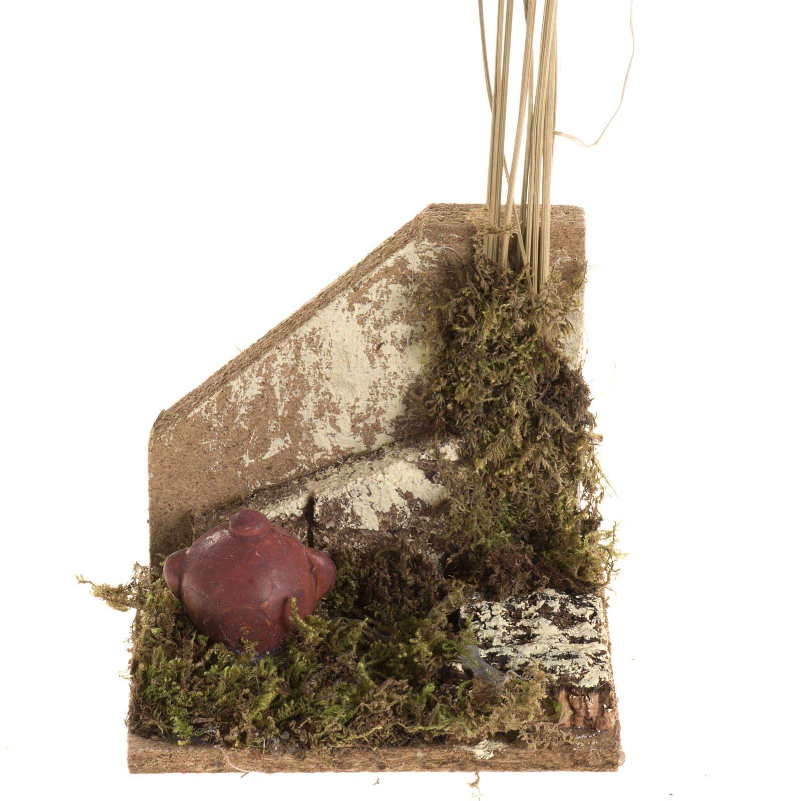 Nativity setting with amphora 4