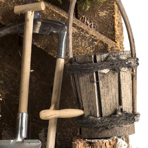 Outils de travail du paysan milieu crèche 4