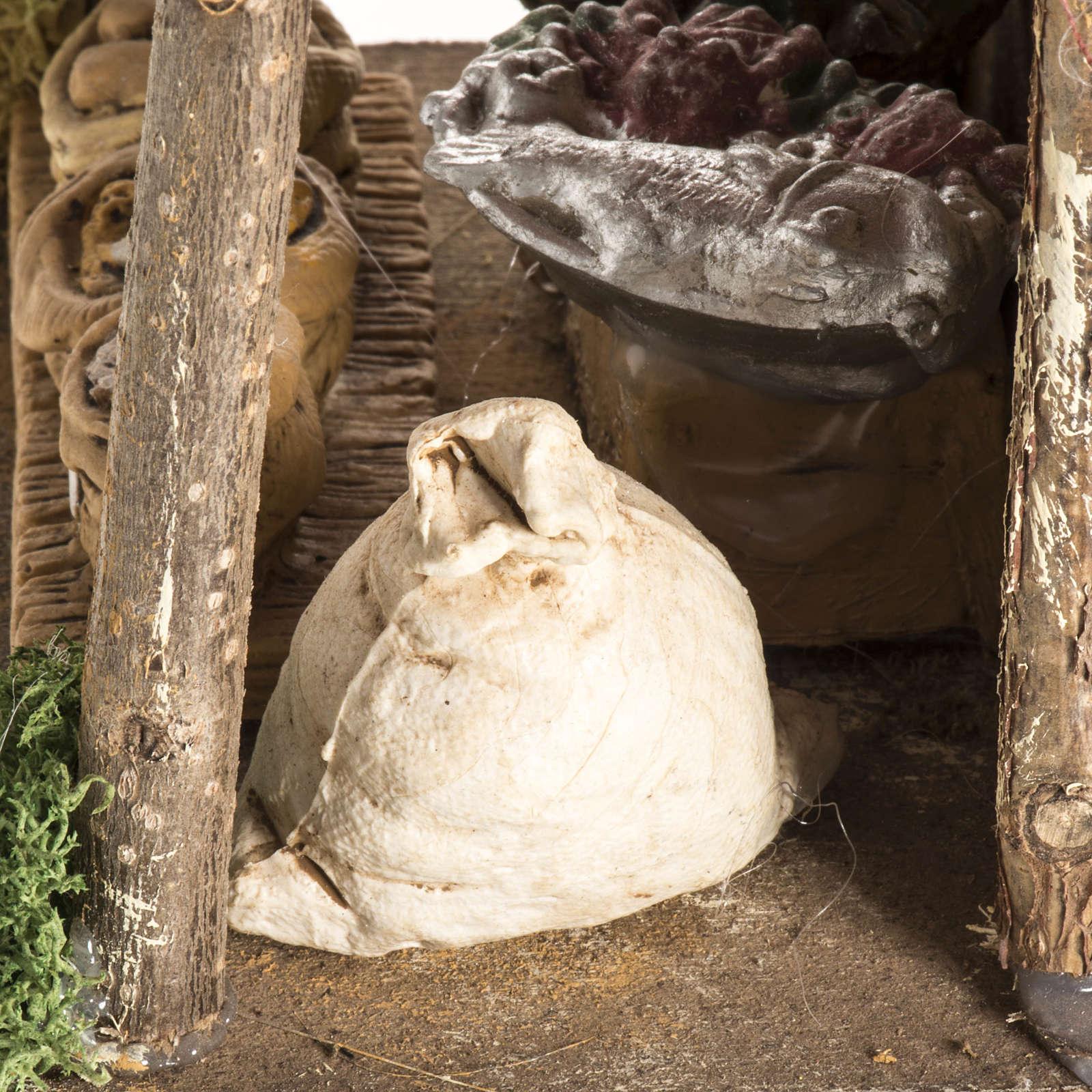 Magasin avec tente pour crèche de Noel 4