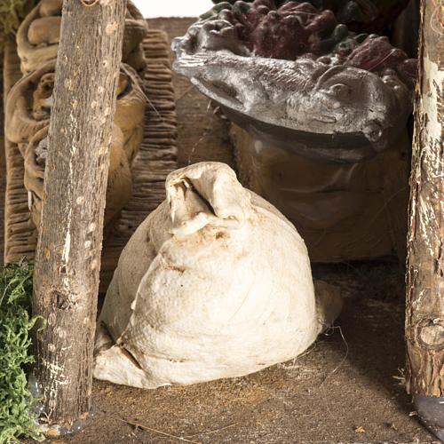 Magasin avec tente pour crèche de Noel 6