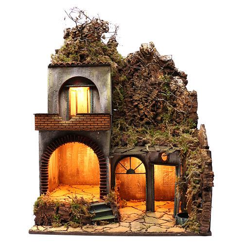 Neapolitan Nativity Village, 50X70X90 cm 1