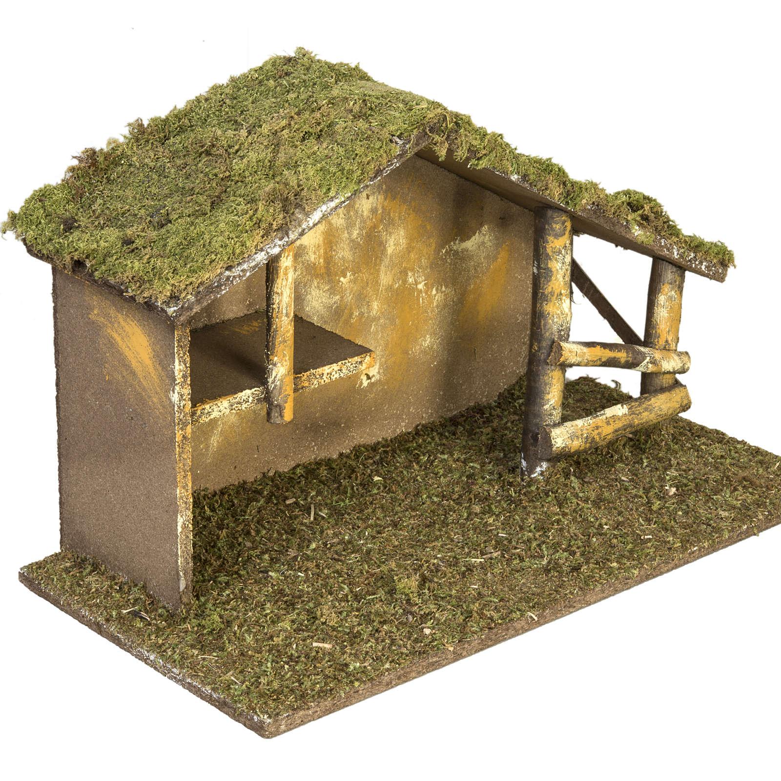 Cabaña tradicional para pesebre 4