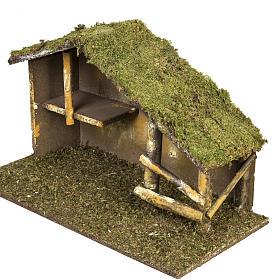 Cabaña tradicional para pesebre s2