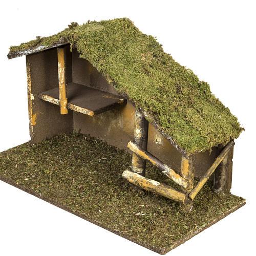 Cabaña tradicional para pesebre 2