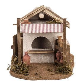 Atelier du céramiste crèche  Fontanini village 12 cm s4