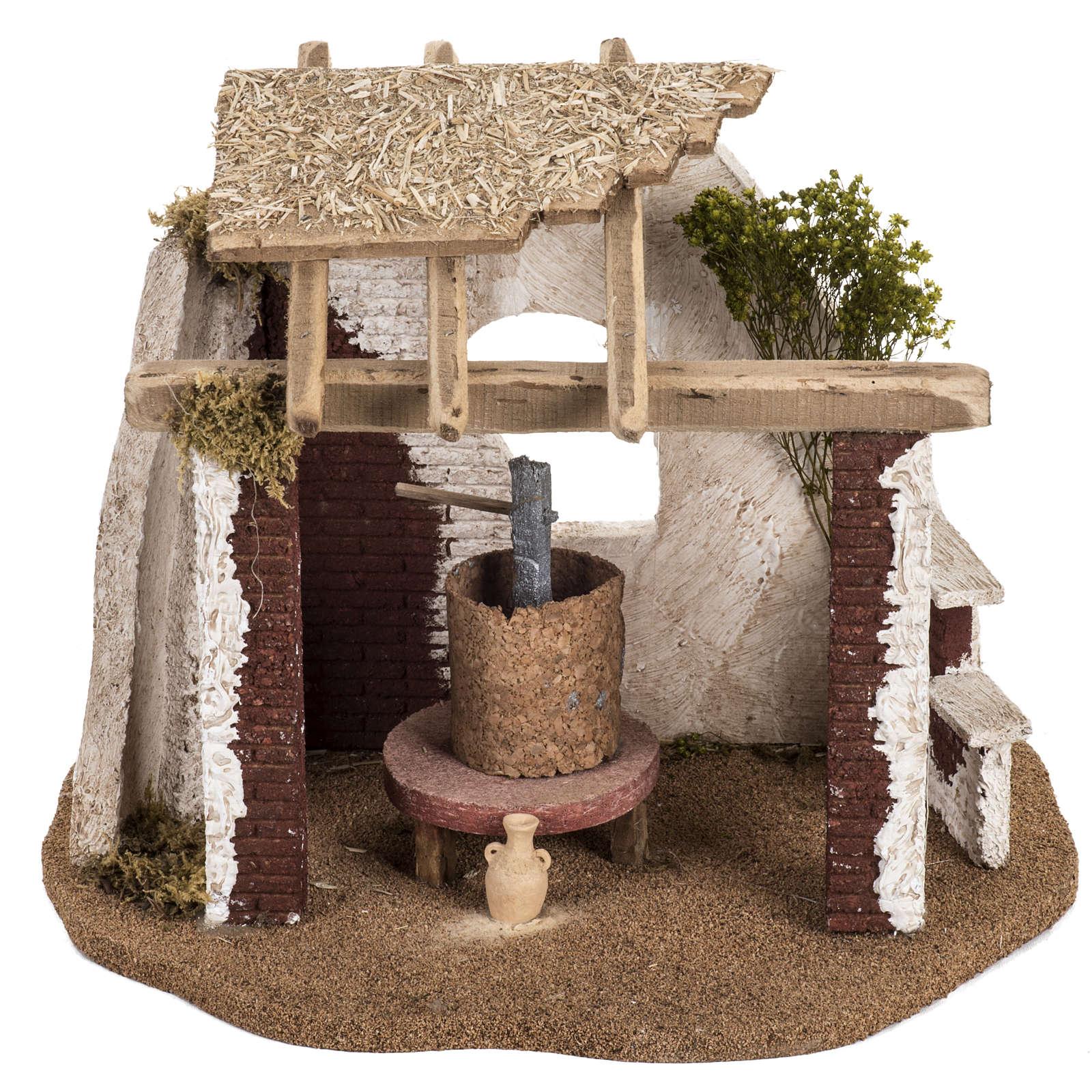Cantina presepe Fontanini per villaggio cm 12 4