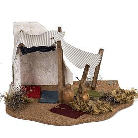 Tente des Rois Mages crèche Noel Fontanini: village 12 cm s4