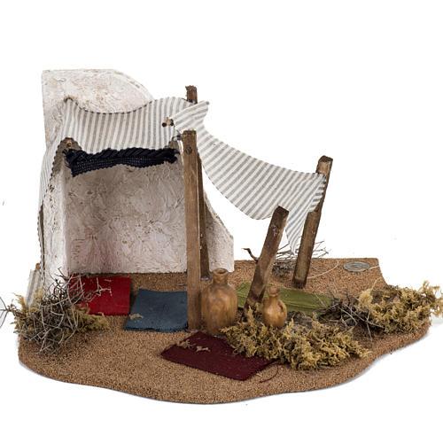 Tenda Re Magi: ambientazione Fontanini per villaggi cm 12 4