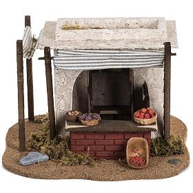 Fontanini Nativity Scene resin figurine fruits seller 12 cm s4