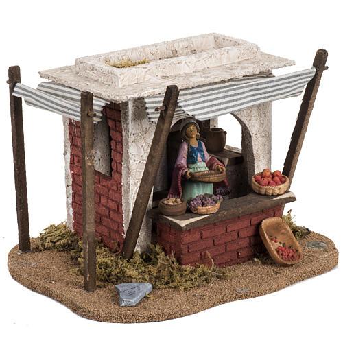 Fontanini Nativity Scene resin figurine fruits seller 12 cm 2