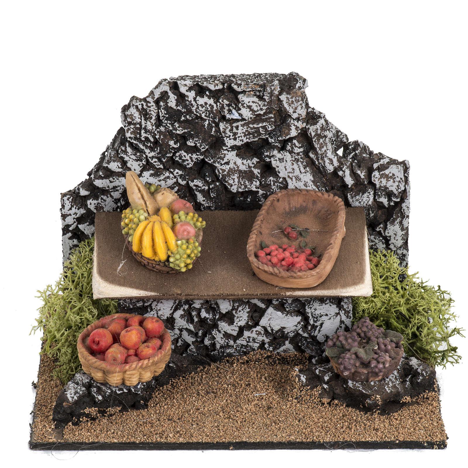 Banchetto frutta Fontanini villaggio cm 12 4