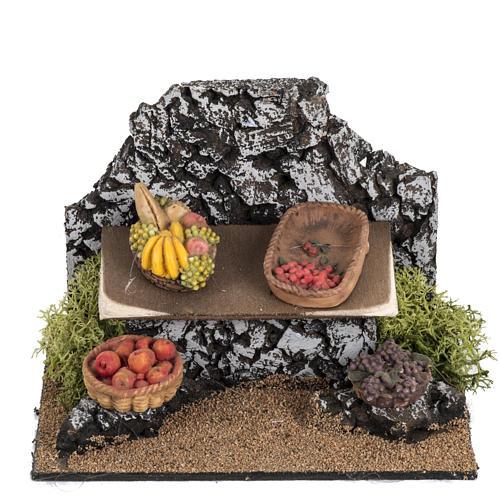 Banchetto frutta Fontanini villaggio cm 12 1