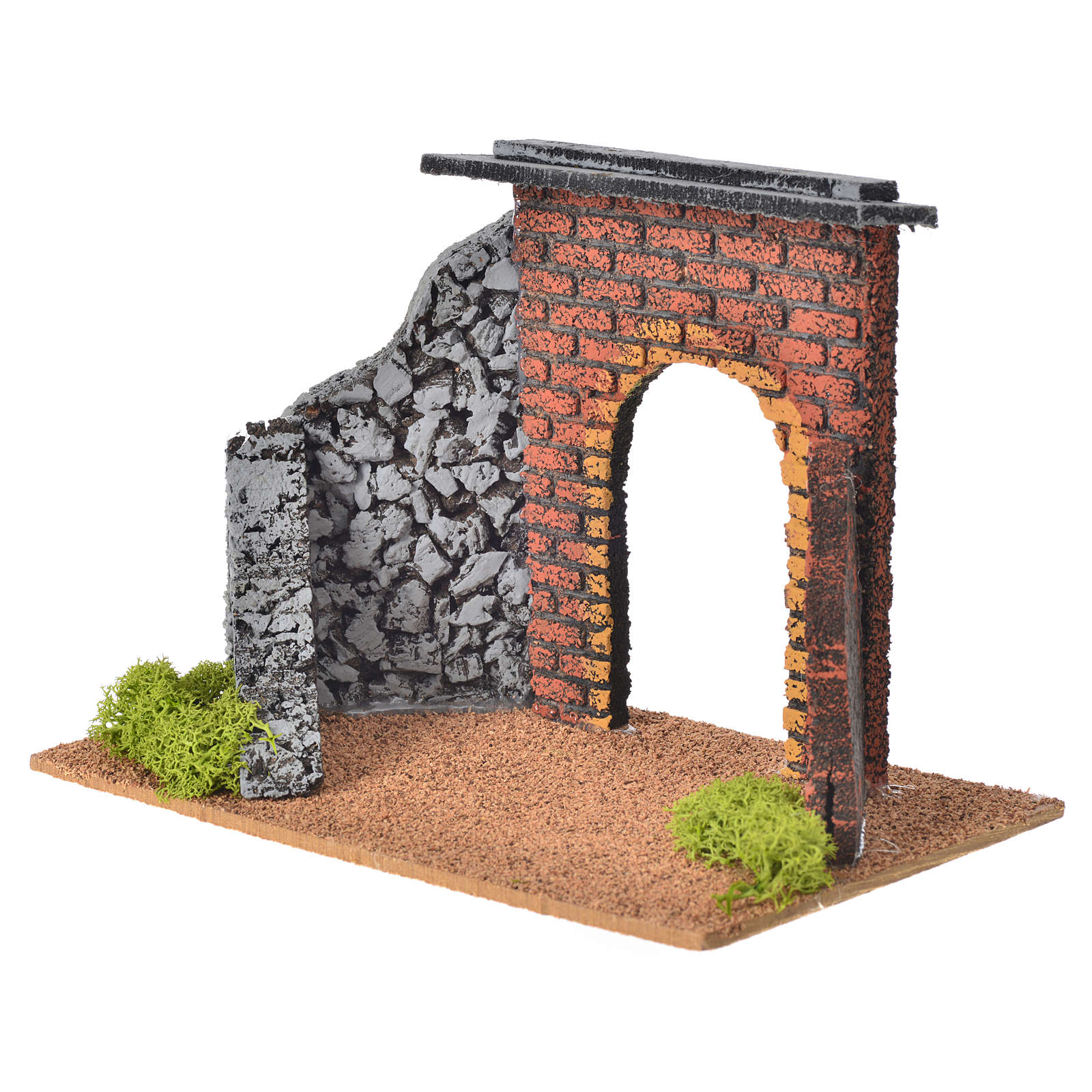 Archetto villaggio per presepe cm 12 Fontanini 4