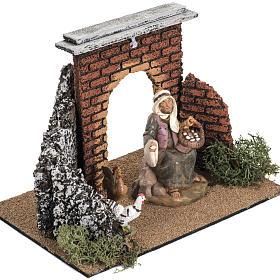 Archetto villaggio per presepe cm 12 Fontanini s2