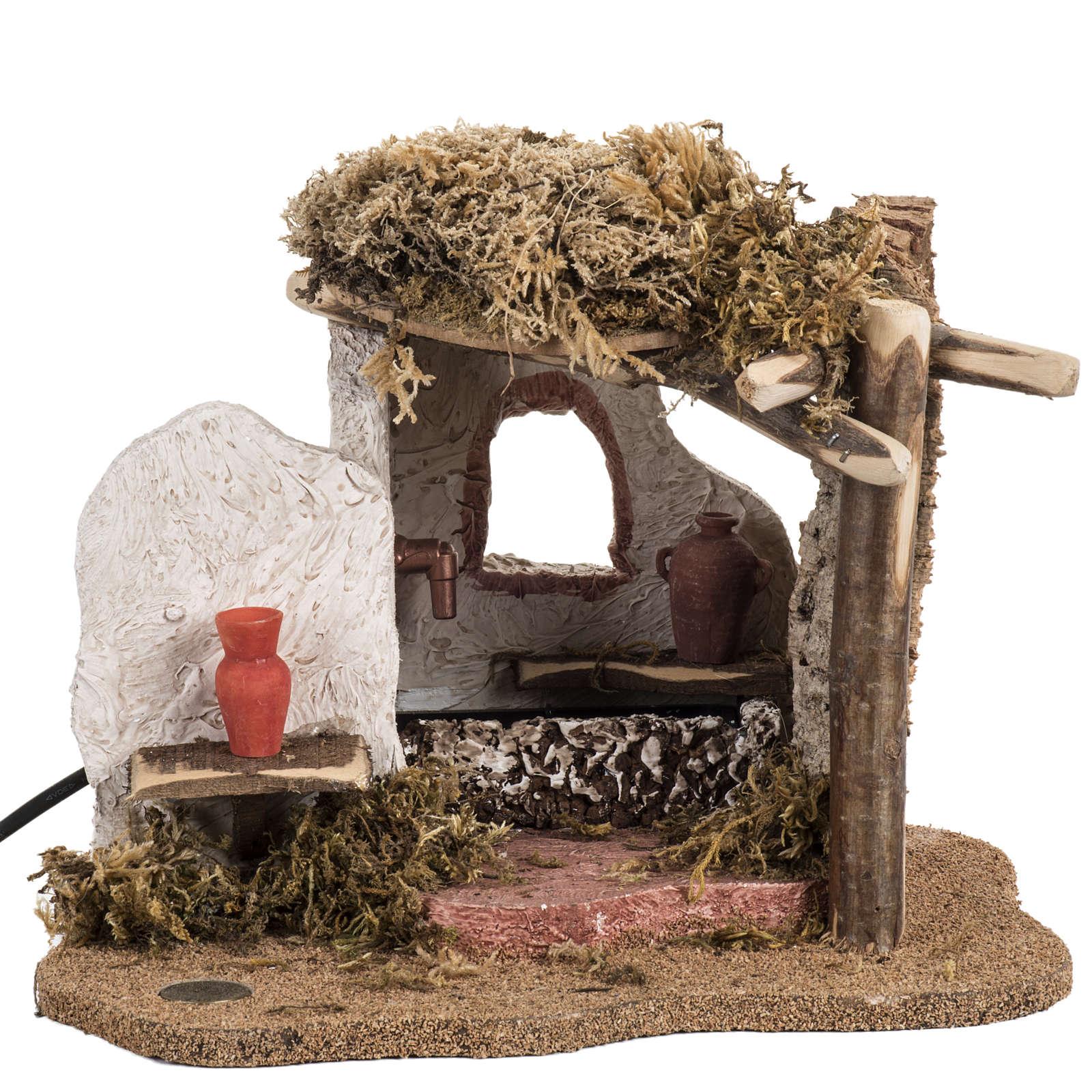 Fontanini nativity Scene fountain 4