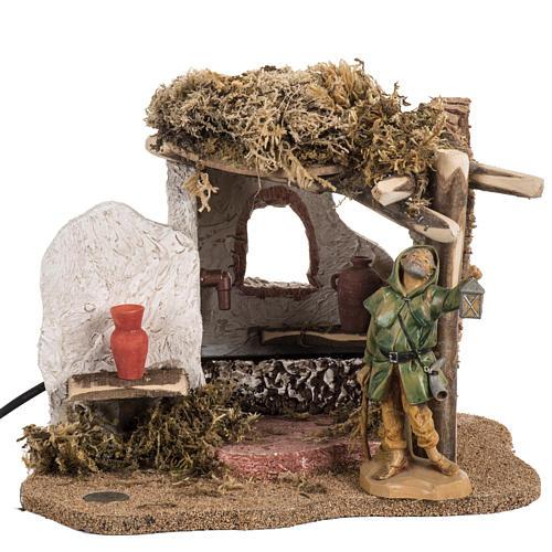 Fontanini nativity Scene fountain 1