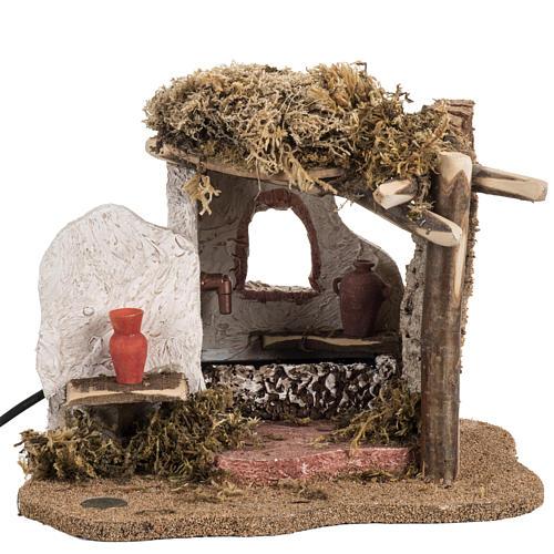 Fontanini nativity Scene fountain 3