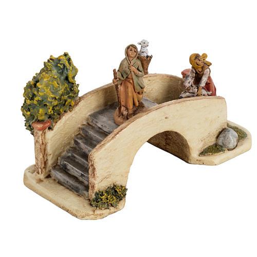 Puente para aldeal de 6,5cm, Fontanini 2
