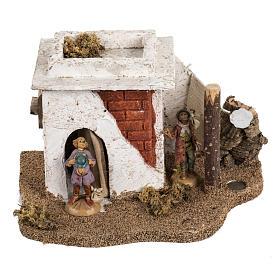 Casa stile arabo per villaggio Fontanini cm 6.5 s1