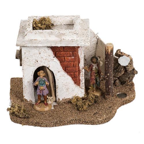Casa stile arabo per villaggio Fontanini cm 6.5 1