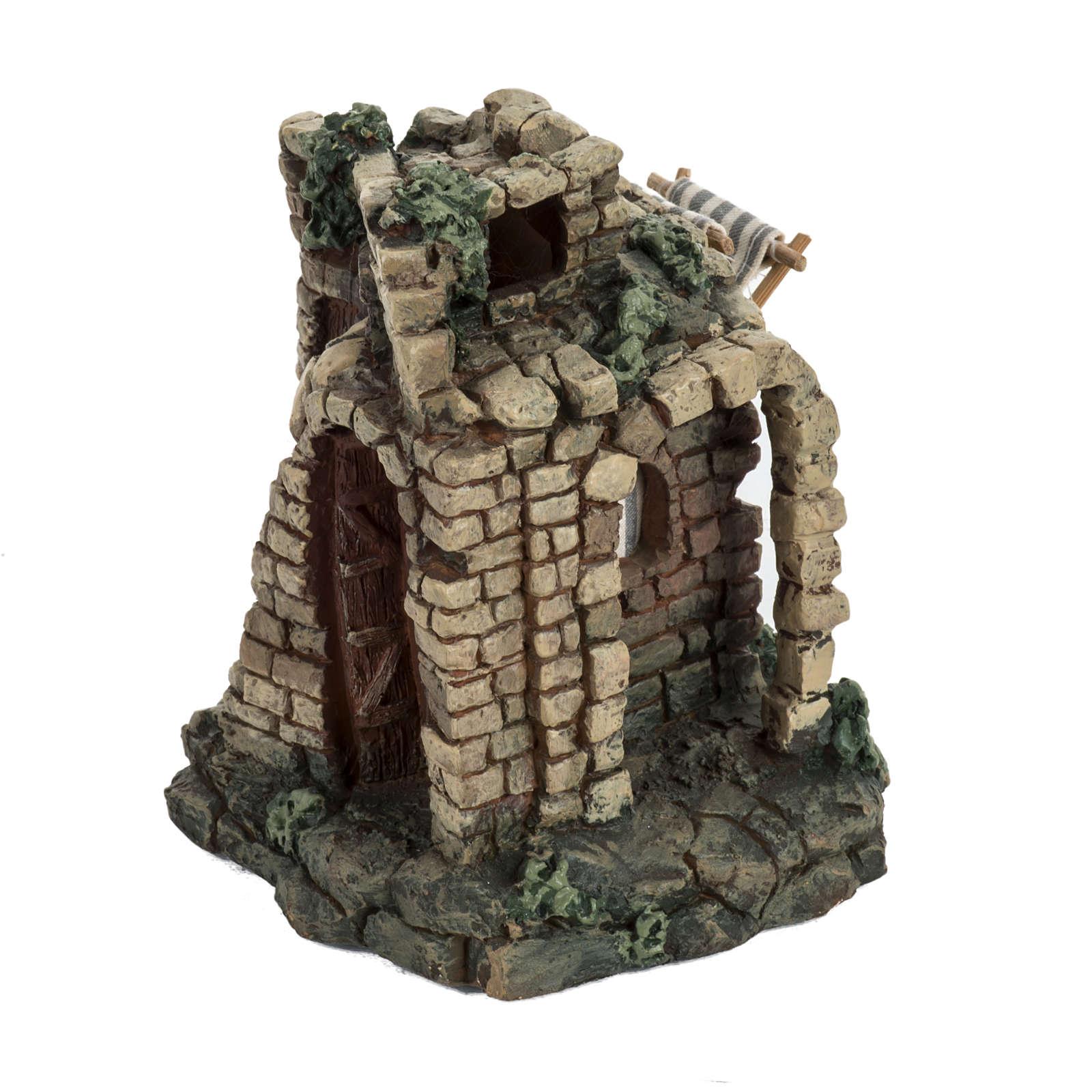 Maison pour village crèche Noel Fontanini 6,5 cm 4