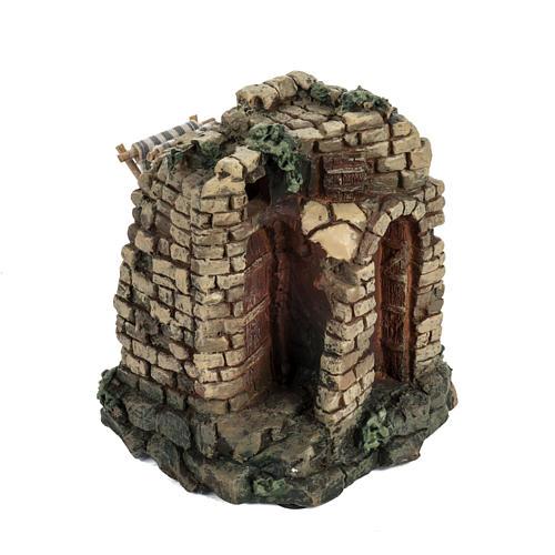 Maison pour village crèche Noel Fontanini 6,5 cm 2