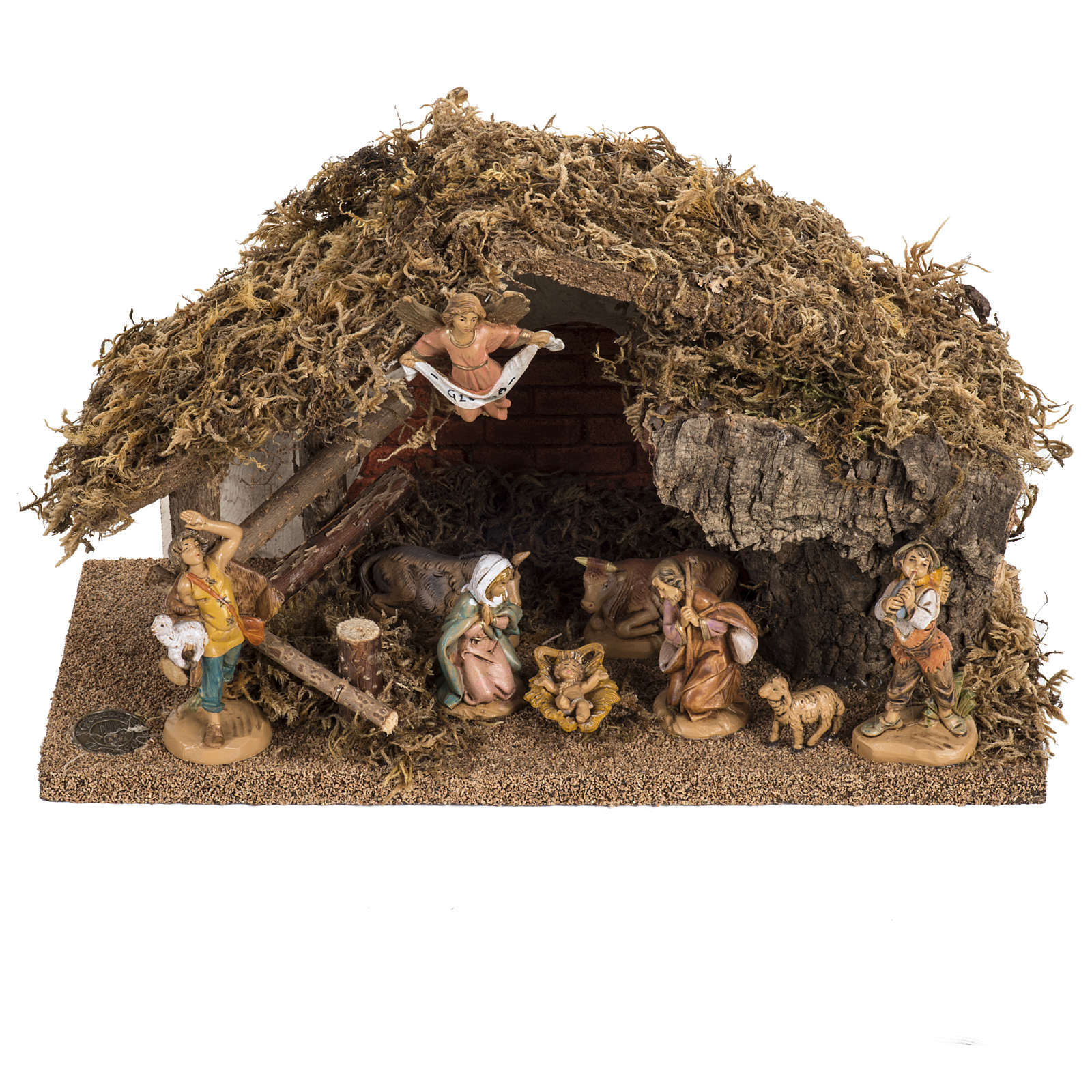 Fontanini nativity Scene stable 4