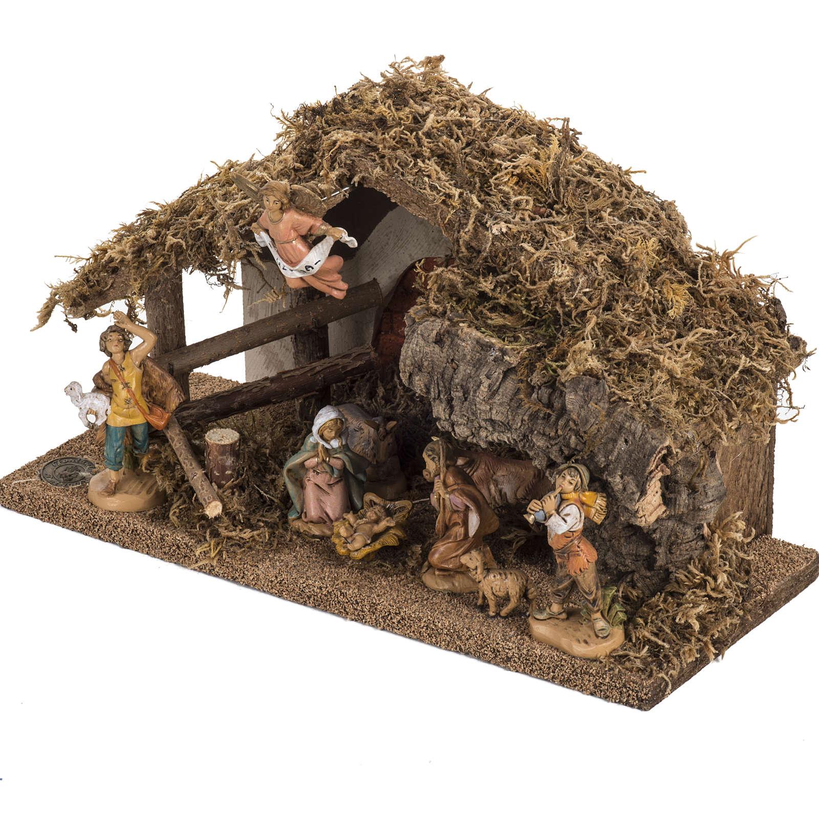 Fontanini nativity Scene stable 4