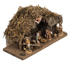 Fontanini nativity Scene stable s2