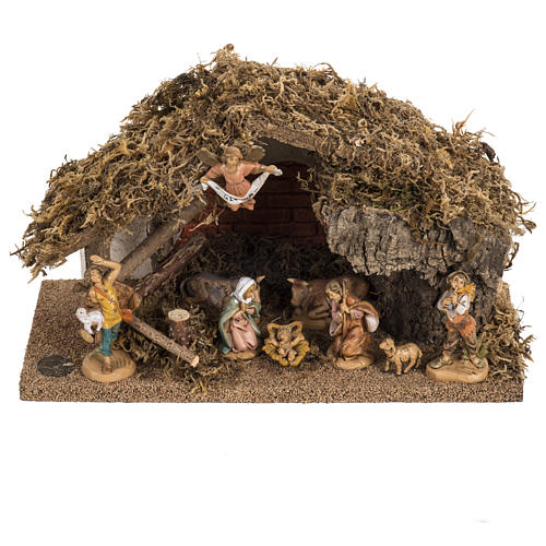 Fontanini nativity Scene stable 1