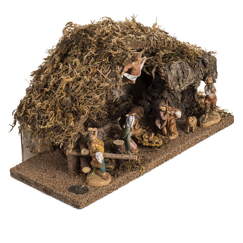 Fontanini nativity Scene stable 2