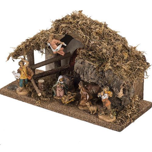 Fontanini nativity Scene stable 3