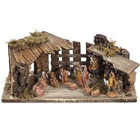Fontanini Nativity Scene stable 6.5 cm s1