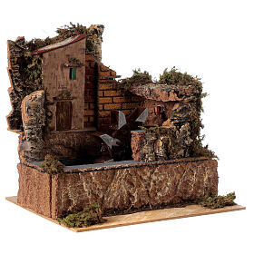 Water mill with pump 25x14cm s4