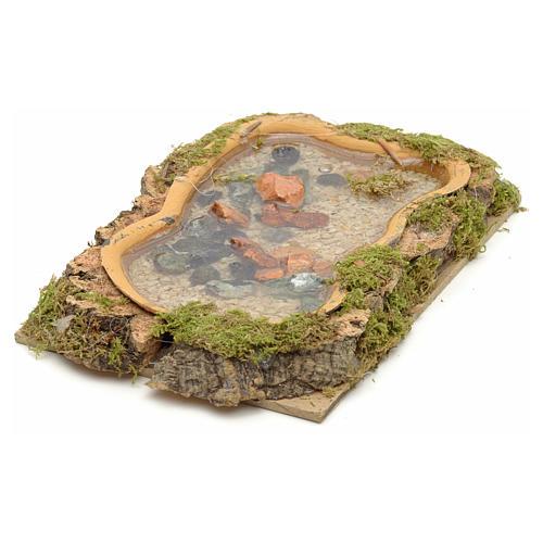 Lago 15x 10cm efecto agua 2
