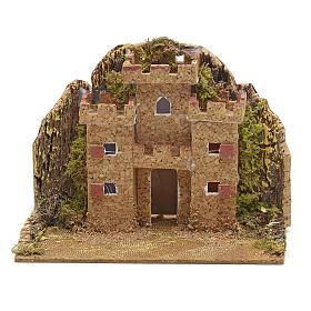 Castello presepe 15x10 s2