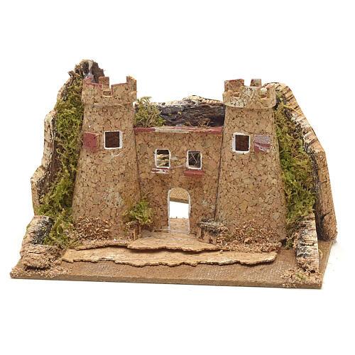 Castello presepe 15x10 3