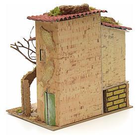 Abgelegenes Landhaus für Krippe 21x16 cm s4