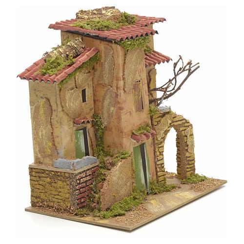 Abgelegenes Landhaus für Krippe 21x16 cm 2