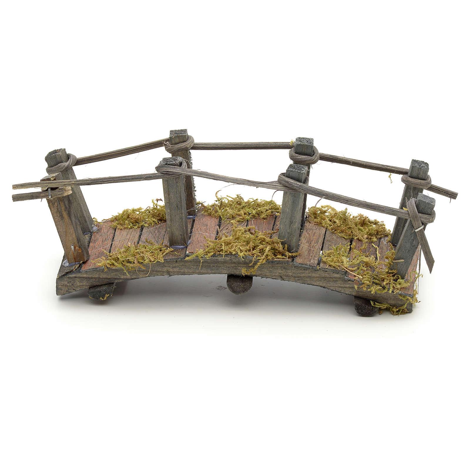 Ponte in legno cm 17,5x6x7 4