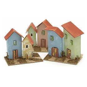 Maison en miniature pour crèche de Noel cm 10x4,5 s4