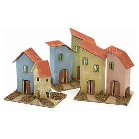 Maison en miniature pour crèche de Noel cm 10x4,5 s6