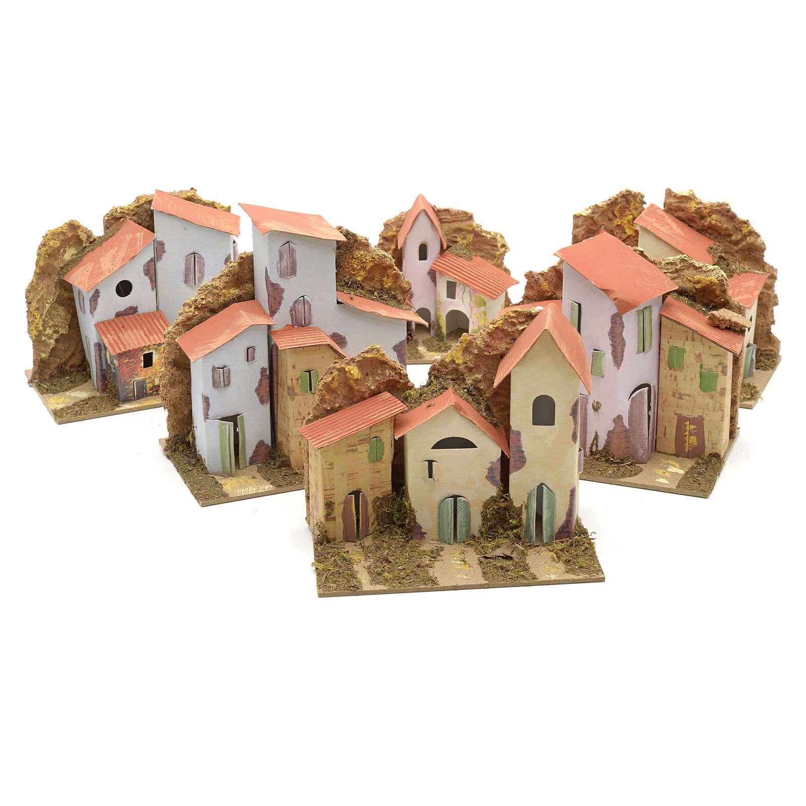 Casa 15x10 cm per presepe 4
