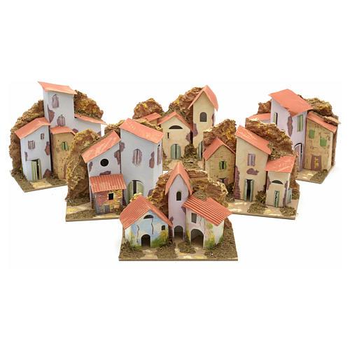 Casa 15x10 cm per presepe 1