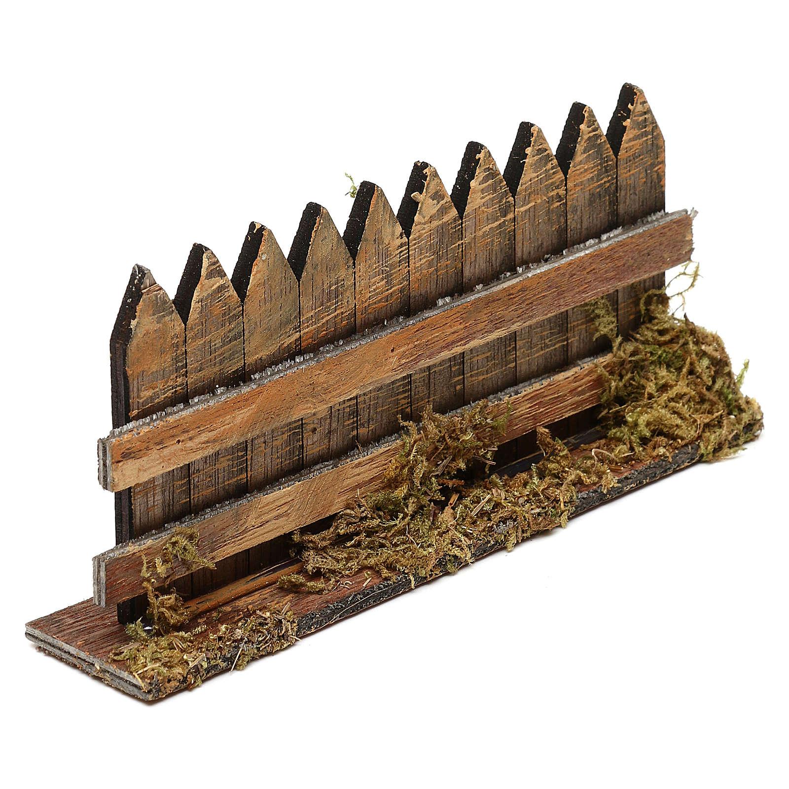 Cerca de madera cm 15 x 3 4