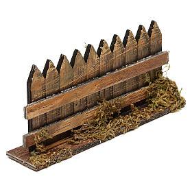 Cerca de madera cm 15 x 3 s2